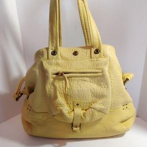 Jerome Dreyfuss yellow Billy medium  handbag